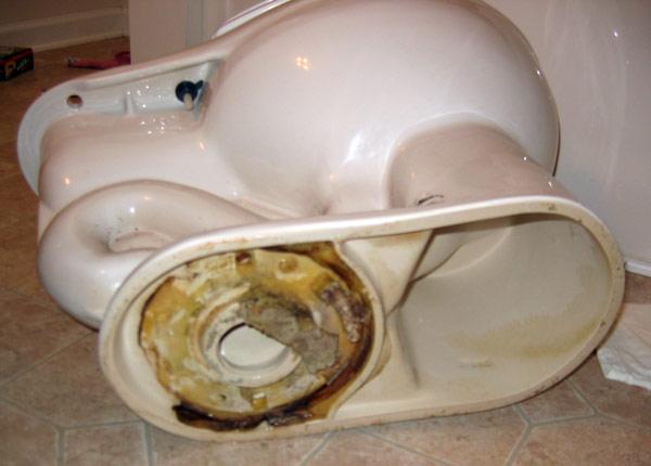 toilet flange + new vinyl floor-toilet-bottom-wax-smushed-15.jpg