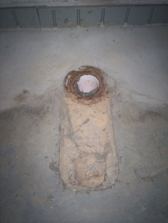 Broken Toilet Flange - Concrete Floor - Plumbing - DIY Home ...