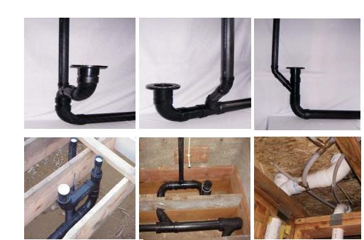 Venting Toilet And Shower Under Slab Toilet Venting