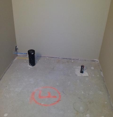 Help Identify Rough In Bathroom Components Plumbing