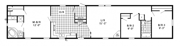 Mobile Home Floor Plans - Manufactured Home Floor Plans
