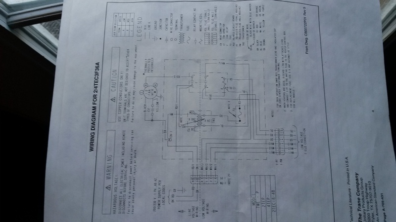 trane blower motor wiring diagram trane image blower motor wiring issue hvac diy chatroom home improvement forum on trane blower motor wiring diagram