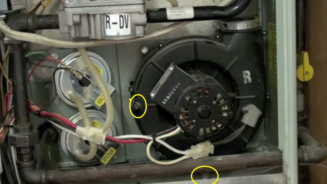 Trane Xe90 Water Leaking From Inducer Hvac Diy