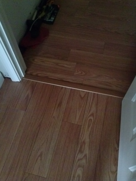 Laminate Flooring Direction Cut Transition1 Jpg