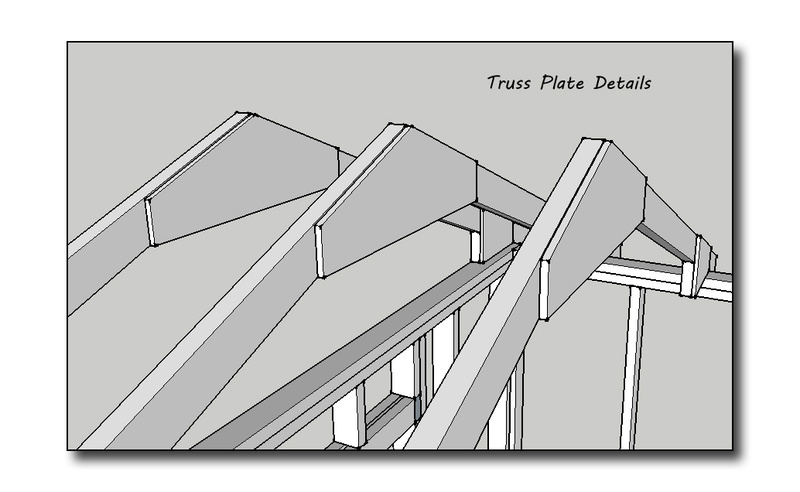 X Sloped Roof Metal Building