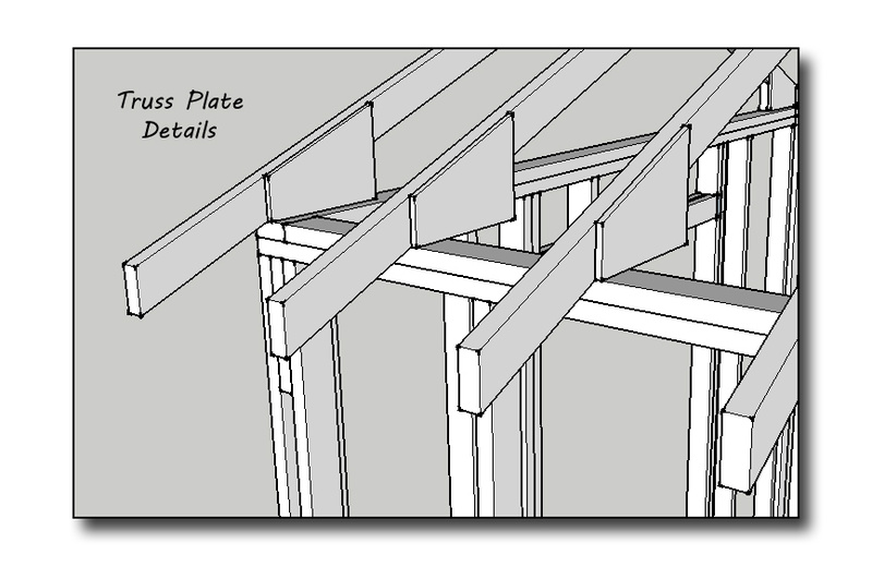Shed Truss Design - Timber Frame Roof System Luxurious