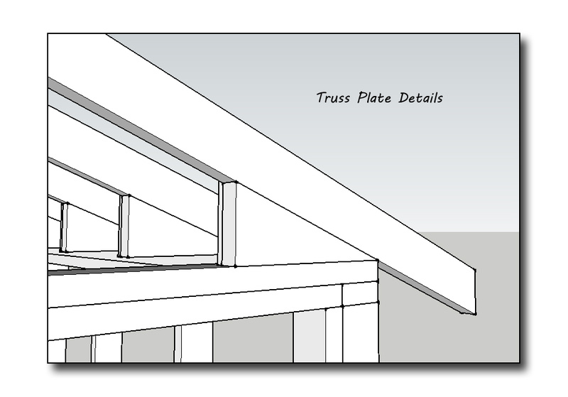 Shed Roof Without Ceiling Joists - Building & Construction