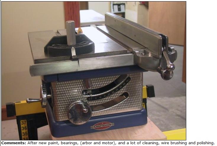 Ooooold table saw restoration tools diy chatroom home ooooold table saw restoration ts4g keyboard keysfo Choice Image