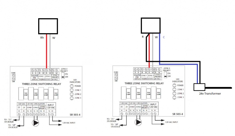 Adding A New  U0026quot C U0026quot  Wire To Upgrade From Two Wire Thermostat