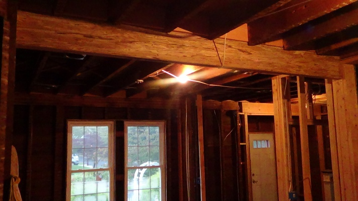 NJ Colonial - Family Remodel-tv-room-beam-replaced.jpg