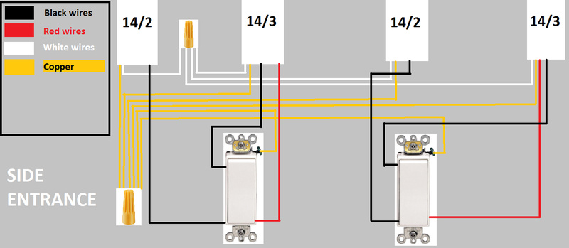 3 Way Switches Need Help Finding The TRAVELER Wires Electrical