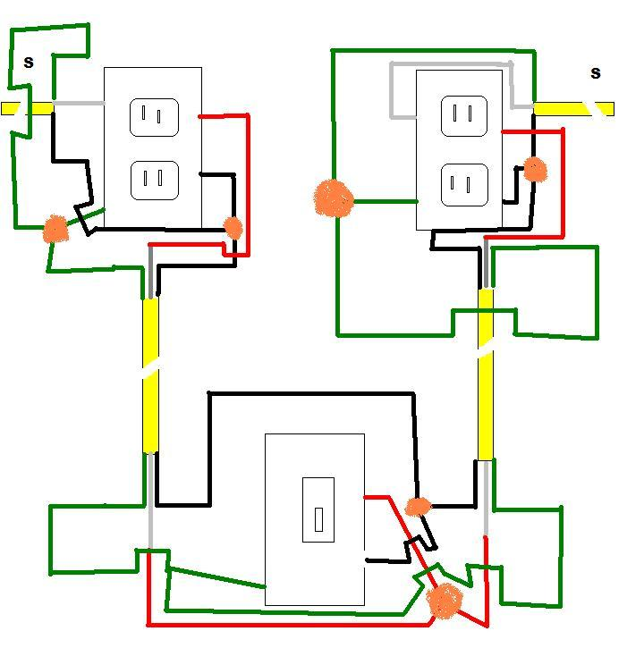 Wiring 2 Outlets. Wiring. Wiring Diagrams Instructions