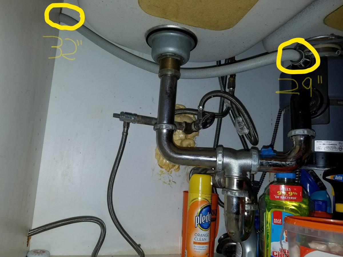 Bosch Dishwasher Odor Under Sink Drain ...