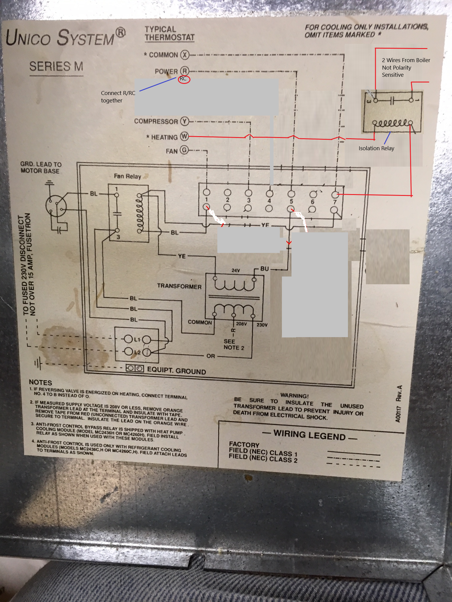 Air Handler Aquastat For Auto Mode Is Blowing The Transformer - HVAC on basic boiler piping diagram, basic electrical circuit diagram, basic steam cycle boiler, system 2000 boiler wiring diagram,