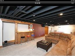 Painting Exposed Basement Ceiling. Attached Images