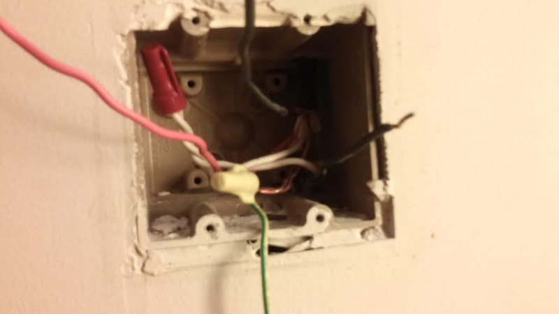 Replacing Double Light Switch With A Single - Electrical - DIY ...