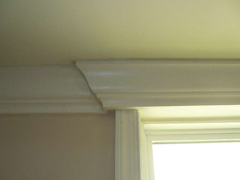 Crown Molding With Window Carpentry