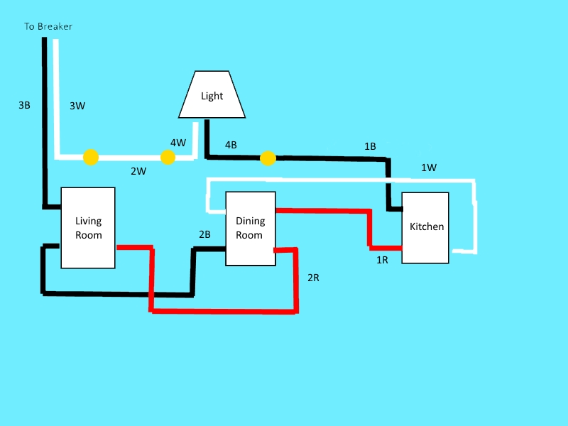 Adding Extra 4 Way Switch To Existing Circuit Electrical