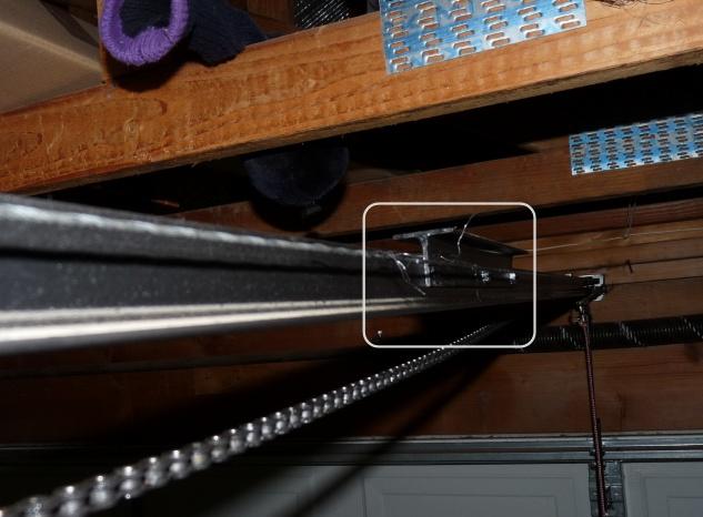 Garage Door Opener Chaincable Fix Building Construction Diy