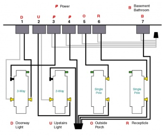 a 4 gang schematic wiring wiring diagrams structure Wiring a 4 Gang Light Switch