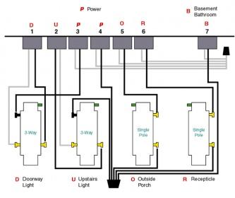 4 gang switch box wiring diagram wirdig wiring a 4 gang outlet help wiring a 4 gang switch