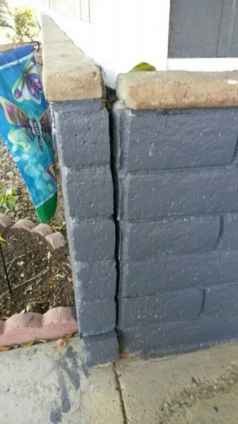 Can I use concrete to repair a small brick wall-uploadfromtaptalk1399825162850.jpg