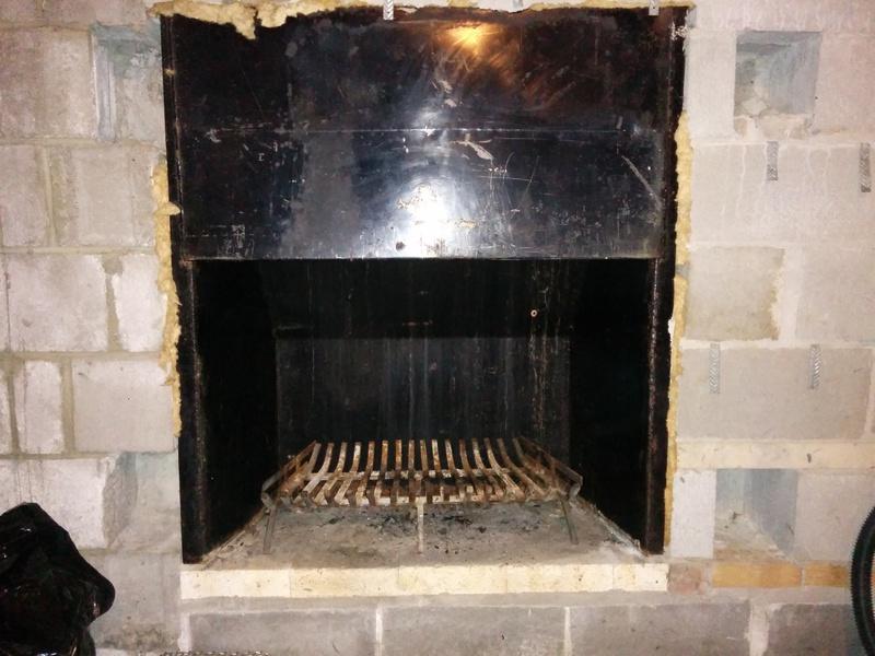 Insulation Around Gas Fireplace Insert Part - 46: How To Insulate Around Basement Fireplace-uploadfromtaptalk1424034617519.jpg