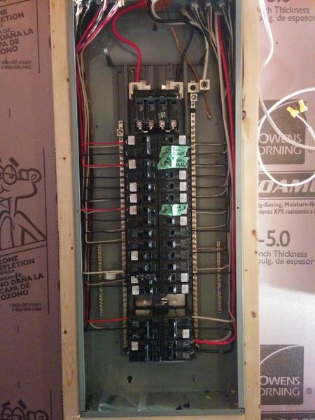 ground lug needed on siemens main panel electrical diy chatroom rh diychatroom com 20 Ground Rods Grounding Rod Home Depot