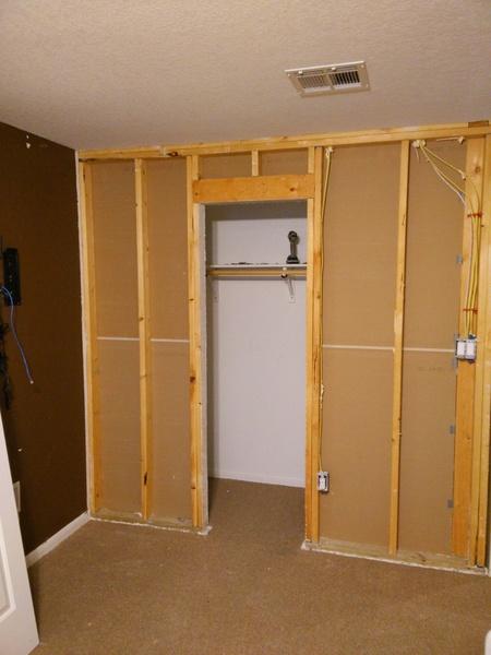 Widen Closet Door Remodeling Diy Chatroom Home Improvement Forum
