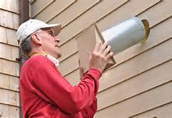 Installing Exterior Wall Vent Cap For Bath Exhaust Fan
