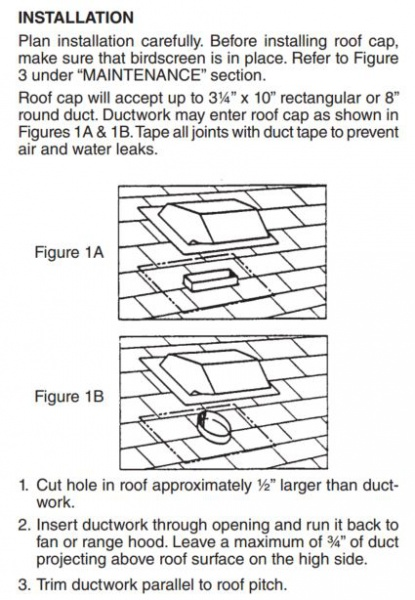 Dual problem - Frost in attic / condensation in range hood pipe  Read more: http://ww-vent.jpg