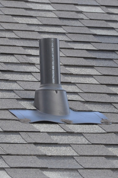 Wrong Roof Vent For Bathroom Exhaust Roofing Siding