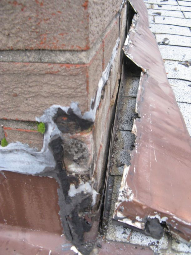 Roof Leak Near Chimney Roofing Siding Diy Home