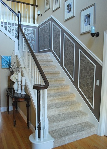 Picture Frame trim on stairs-wainscot-design-stairs.jpg