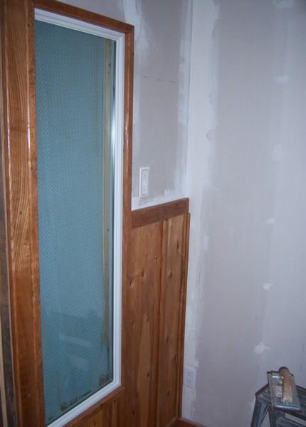 Oak trimming her new foyer.-wainscot2.jpg