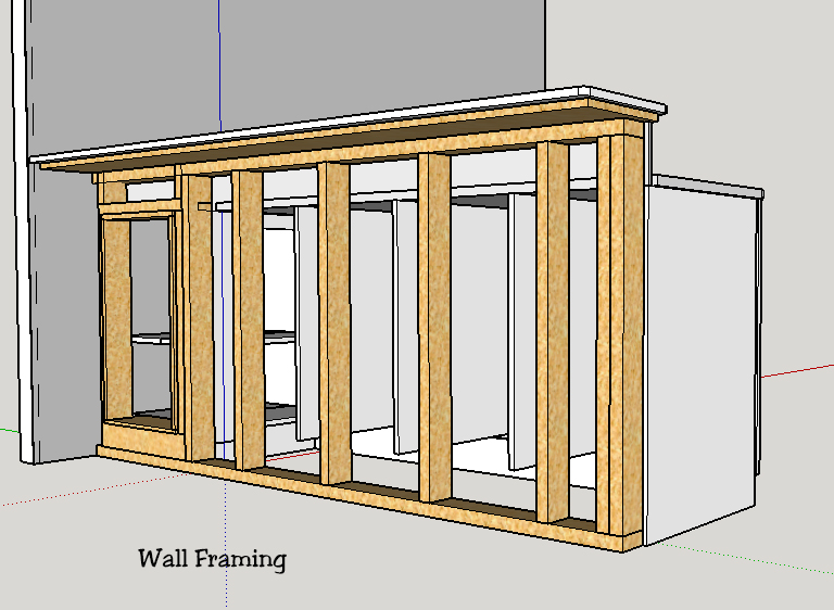 Bar Framing 2x4 Or 2x6 Framing Building Amp Construction