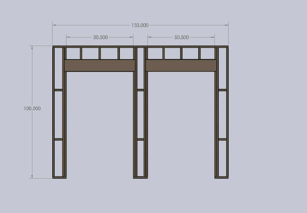 how to support a load bearing wall