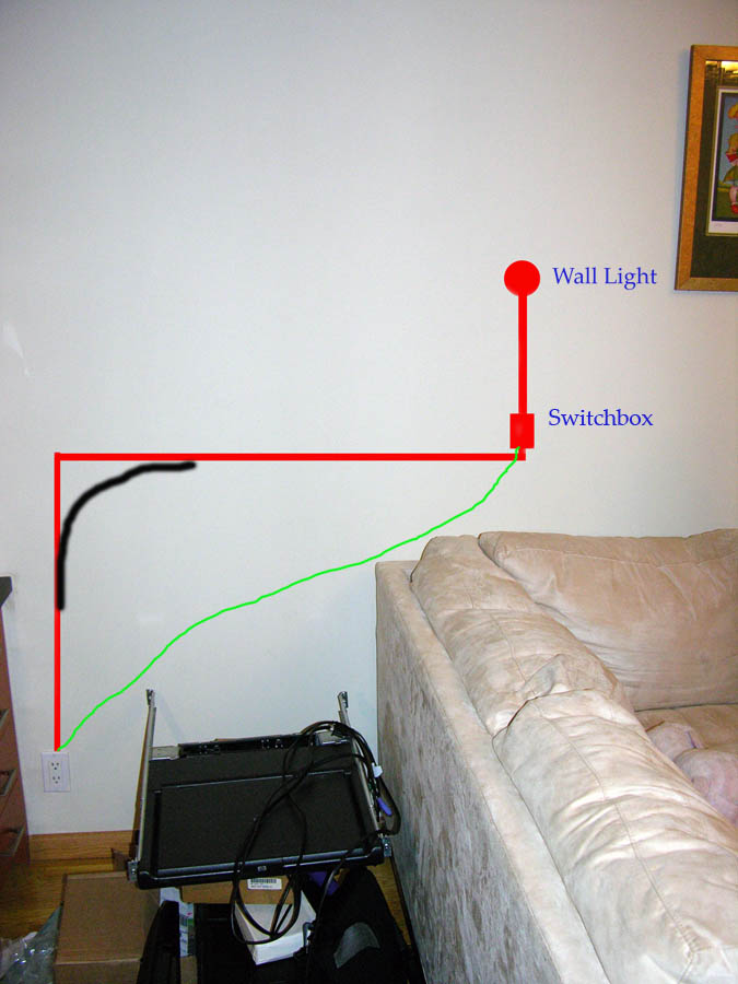 How to route BX cable-wall-light.jpg