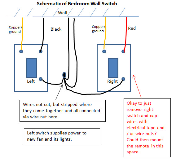 simple question regarding wall switch wiring electrical Dual Wall Switch Wiring Diagram