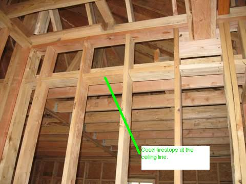 How To Fireblock Framing How To Guides Diy Chatroom