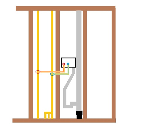 Re-plumbing A Washer Hookup And Drain Question - Plumbing - DIY Home ...