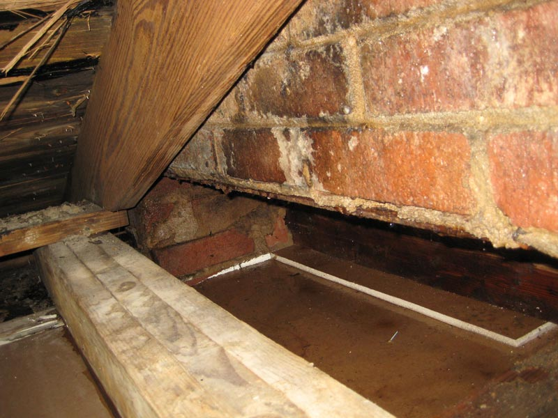 ... Persistent Leak   Chimney Or Roof? Water Chimney 2 Small.