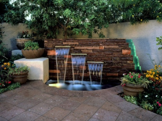 Delicieux Fountation For An Outdoor Waterwall Fountain Water Feature 2