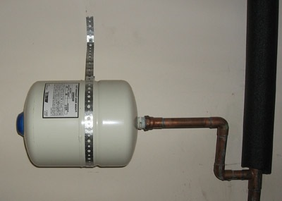 Installation And Support Of Water Heater Expansion Tanks
