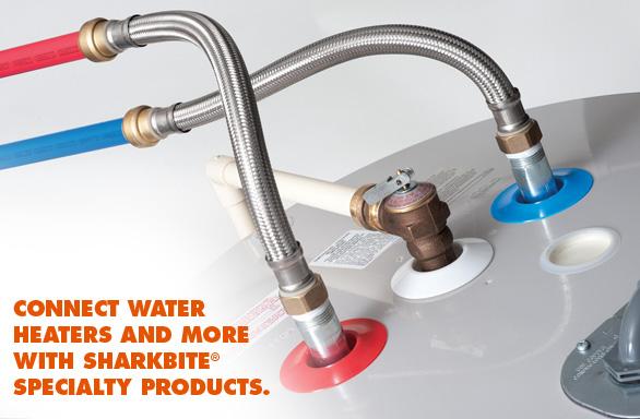 pex pipe installed behind drywall broke-water_heater_flex.jpg