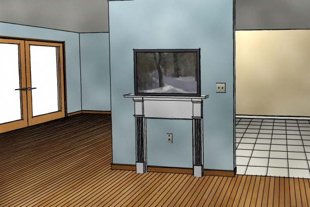 "How to spice up tv on the wall...looks ""bland""-wc2.jpg"