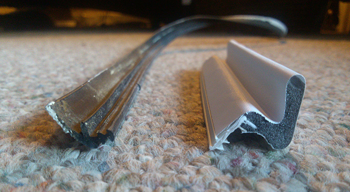 door kerf weatherstripping replacement not going well-weatherstripping1.jpg ... & Door Kerf Weatherstripping Replacement Not Going Well - Windows ... Pezcame.Com