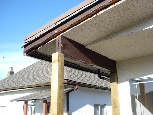 Extend House Roof Over Back Deck Carpentry Diy