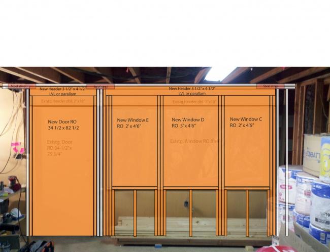 Marvelous Header Question   Raising Door And Window RO Westwindowdoorproposed3
