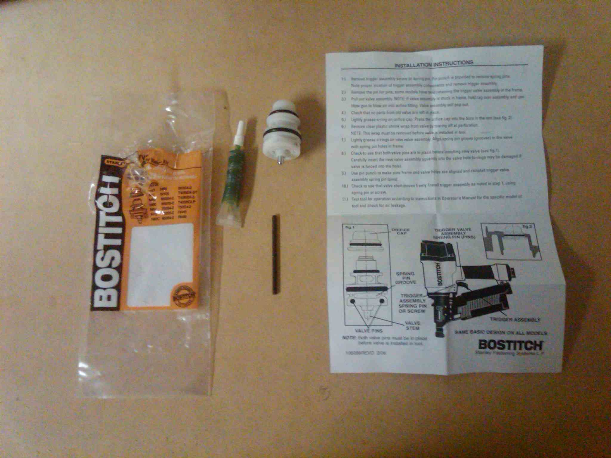 How to replace the trigger valve on a Bostich Nail Gun.-whats-package.jpg